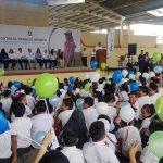 imagen de la inauguración la Campana Erradicar el trabajo Infantil es responsabilidad de todos
