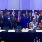 imagen de la licenciada Olivia Lemus Presidenta de la CODHET participa en la Tercera Cumbre