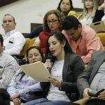 imagen Auditorio del H. Congreso del Estado de Tamaulipas, participación de Diputadas, Diputados y la Lic. Olivia Lemus