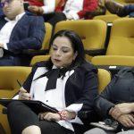 Auditorio del H. Congreso del Estado de Tamaulipas, participación de Diputadas, Diputados y la Lic. Olivia Lemus
