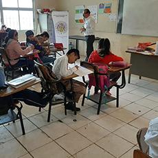Difusión y Divulgación de los Derechos Humanos, dirigido a los alumnos de la Escuela Primaria Luis Donaldo Colosio Murrieta
