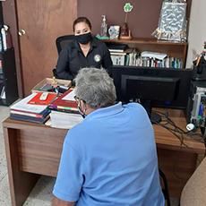 Personal de la Codhet realizó  asesorías y gestiones en beneficio de los ciudadanos.