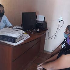 Personal de la Delegación Regional de Tula, brindó asesoría a ciudadanos.