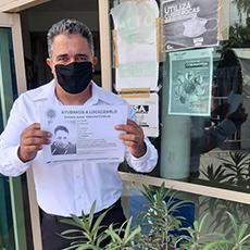 Se acudió a las oficinas de la Fiscalía General de la República, a integrar  expedientes de queja y colocación de carteles de búsqueda Personas  Desaparecidas.