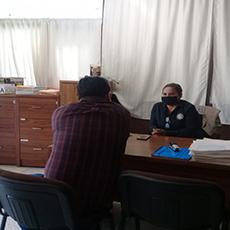 Personal de la Codhet, recibió la visita del coordinador de jueces calificadores.