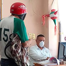 Personal de la Codhet llevó acabo asesoría a un ciudadano en materia agraria.