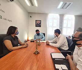 Reunión con personal de la Comisión Estatal de Atención a Víctimas
