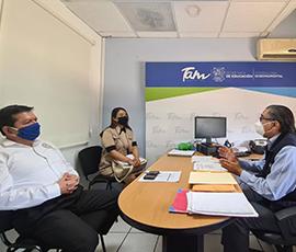 Reunión de Trabajo con el Titular del Órgano de Control de la Secretaría de Educación