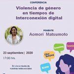 Conferencia Violencia de género en tiempos de Interconexión digital