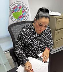 imagen La Presidenta de la CODHET y Vicepresidenta de la Comisión de Gobierno del Mecanismo Independiente de Monitoreo Nacional ( MIMN), Lic. Olivia Lemus, participó en sesión ordinaria.