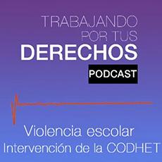 imagen Violencia escolar intervención de la CODHET