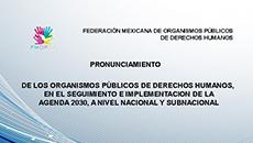 imagen Pronunciamiento de la FMOPDH sobre la Agenda 203