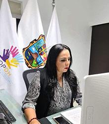 Lic. Olivia LEMUS acto de presencia en el Foro Internacional Desafío de la Justicia en Adolescentes en México