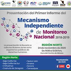 Presentación del Primer Informe del Mecanismo Independiente de Monitoreo Nacional 2018-2019