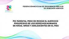 imagen Pronunciamiento de la FMOPDH Pin Parental