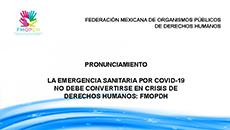 imagen Pronunciamiento de la Emergencia Sanitaria por Covid-19