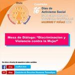 imagen Mesa de Diálogo Discriminación y Violencia Contra la Mujer