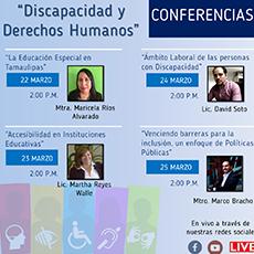 """Conferencia """"Venciendo barreras para la inclusión, un enfoque de Políticas Públicas"""""""