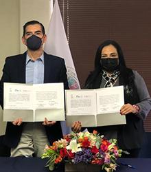Convenio de colaboración para llevar acabo de manera conjunta acciones de docencia y difusión de la cultura jurídica y Derechos Humanos