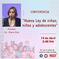 """Conferencia """"Nueva Ley de niñas, niños y adolescentes"""""""