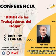 Conferencia: DDHH de las Trabajadoras del Hogar