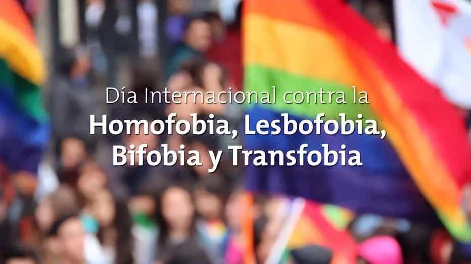 imagen Día Nacional de la Lucha contra la Homofobia