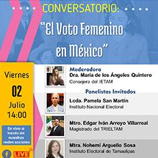 Conversatorio: El Voto Femenino en México