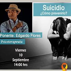 Conferencia: Suicidio ¿Cómo prevenirlo?
