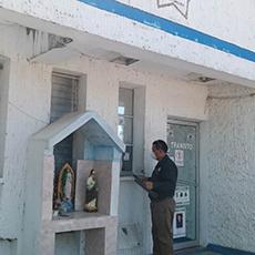 Personal de Delegación Regional de El Mante acudió a la Dirección de Tránsito a realizar notificación