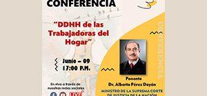 Conferencia DDHH de las Trabajadoras del Hogar