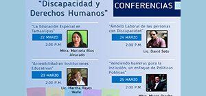 Conferencia Discapacidad y Derechos Humanos