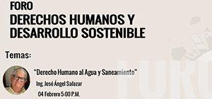 Conferencia Derecho Humano al Agua y Saneamiento