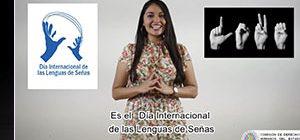 Dia Nacional de Lengua de Señas Mexicana LSM