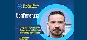 Ley para la protección de personas defensoras de DDHH y periodistas